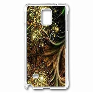 Wild Pattern Custom Back Phone Case for Samsung Galaxy Note 4 PC Material Transparent -1210284 WANGJING JINDA