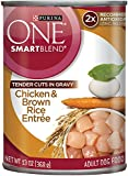 Purina ONE SmartBlend Tender Cuts in Gravy Wet Dog Food - (12) 13 oz. Cans