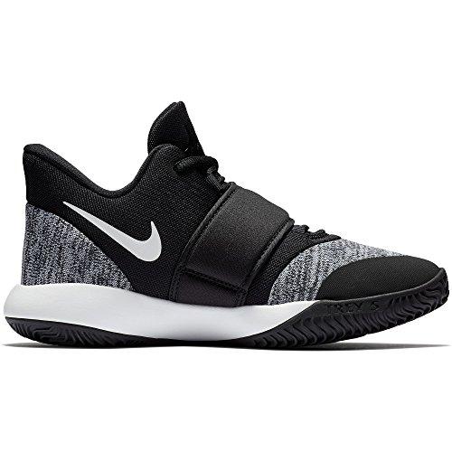 NIKE Boy's KD Trey 5 VI Basketball Shoe Black/White Size 3.5 M US