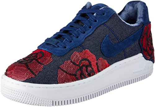 Basket 1 Upsted Force W Air Eu Lx Binary 898421401 Nike Blue 38 6qURznx