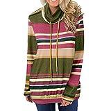 Ulanda Women Casual Autumn Patchwork Long Sleeve Sweatshirt Fashion Blouse T Shirt Sweater
