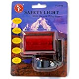 Cheap (2-Pack) 3 LED 4 Function Safety Bike Taillight Flasher w/ Attachment