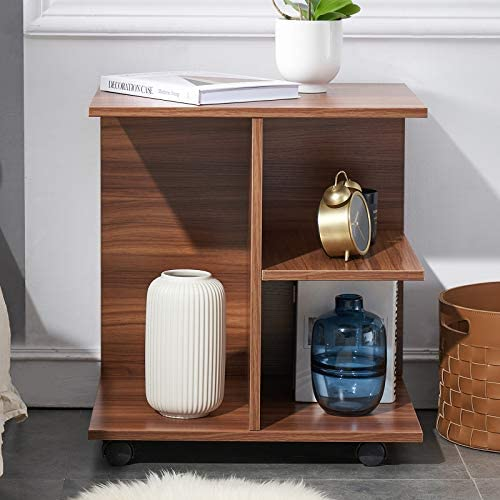 GRELO HOME Modern Nightstand End Side Table