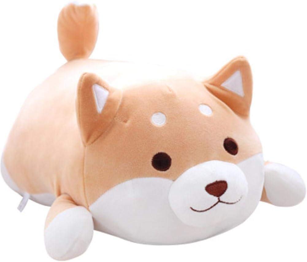 Aovie Corgi Dog Plush Pillow, Soft Cute Shiba Inu Akita Stuffed Animals Toy Gifts