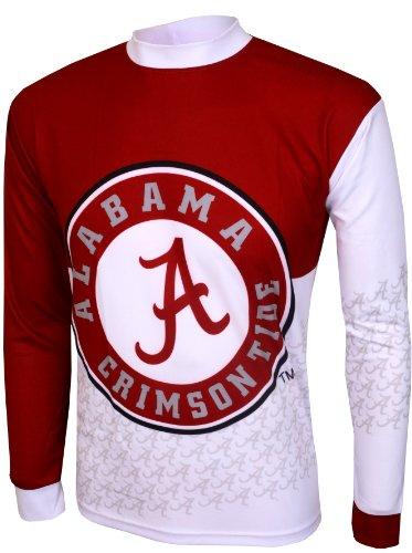 Alabama Crimson Tide UA NCAA Mountain Bike Jersey,Large (White/crimson) (Alabama Cycling Jersey compare prices)