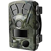 ALLCACA 16MP 1080P Hunting Camera Outdoor Hunting Video Cameras Waterproof Hunting Game Camera with Infrared Night Vision and IP56 Waterproof Grade, Suitable for Wildlife Hunting, Camouflage Color