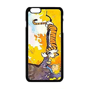 Calvin and Hobbes Fashion Comstom Plastic Case Cover For Apple Iphone 6 Plus 5.5 Inch