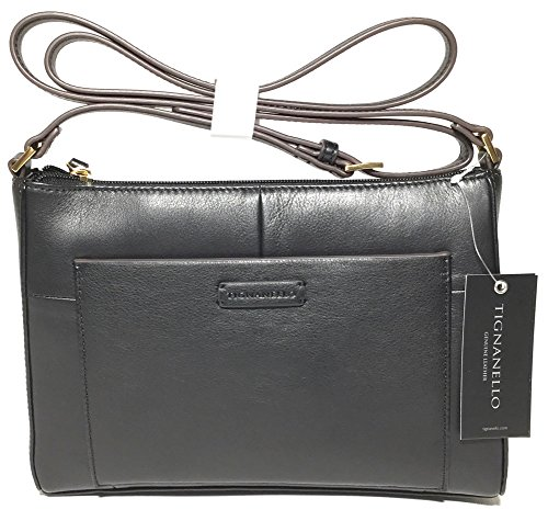 Tignanello Moderna X-Body, Black (Leather Tignanello Genuine)