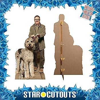 Jim Milson Dog  Friday Night Dinner Official Lifesize Cardboard Cutout Mark Heap