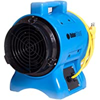OdorStop OS2700 Powerful 1hp Axial Blower (12-inch) with 30 ft. Safety Cord