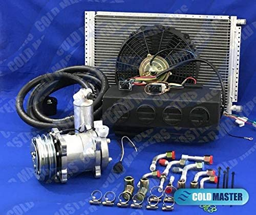 A//C KIT UNIVERSAL UNDER DASH HOSE KIT WITH PRESSURE SWICH AND FILTER DRIER