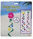Luau Whirls   (3/Pkg)