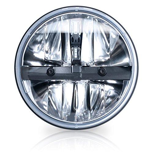 "Philips 7"" Round LED Headlamp (Pack of 1)"