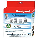 Honeywell HRF-AP1 Filter A Universal Carbon Pre-filter, Pack of 1 (Misc.)