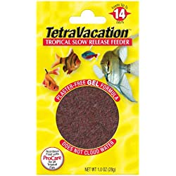 Tetra Weekend Tropical Slow Release Feeder Fish Food, 1.06 oz