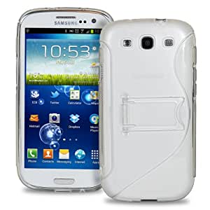 Exponentc Exponentc High Quality PC + TPU Hybrid Stand for Samsung Galaxy S3 S III i9300- CLEAR