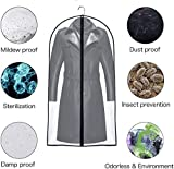 UOUEHRA Hanging Moth Proof Garment Bag Cover