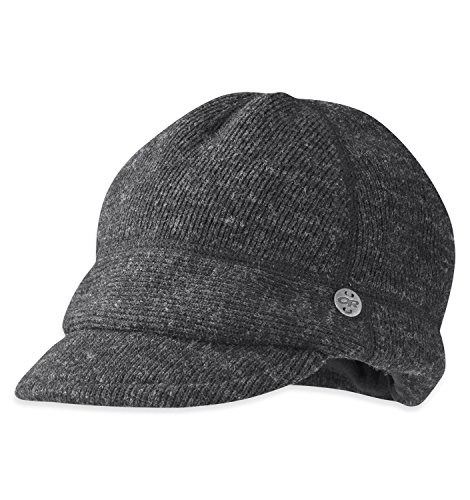 Outdoor Research Women's Flurry Cap, Charcoal, (Outdoor Research Winter Hat)