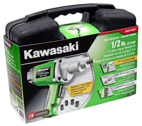 Kawasaki    Inch Impact  Volt Wrench Kit
