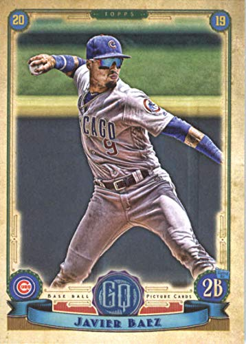 2019 Topps Qypsy Queen #155 Javier Baez Chicago Cubs Baseball Card