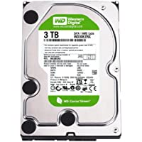 WESTERN DIGITAL WD30EZRS Caviar Green 3TB 64MB cache SATA 3.0Gb/s 3.5 internal hard drive (Bare Drive)