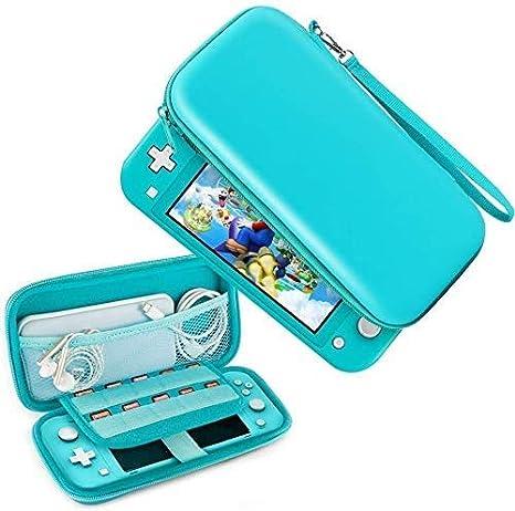 Sirius & Co Estuche portátil para Nintendo Switch Lite, [Hard Shell] Estuche portátil de transporte Estuche protector con almacenamiento para Switch Lite Consola y accesorios (Turquesa): Amazon.es: Videojuegos