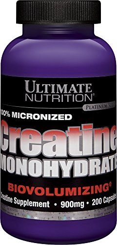 Creatine Monohydrate Capsules (200 Count)