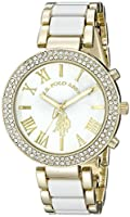 U.S. Polo Assn. Women's USC40065 Gold-To...