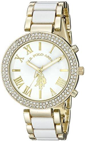 U.S. Polo Assn. Womens USC40065 Analog Display Analog Quartz Two Tone Watch