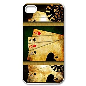 Ace Vintage Poker Card Fashion Hard Case Cover for iPhone 6 4.7