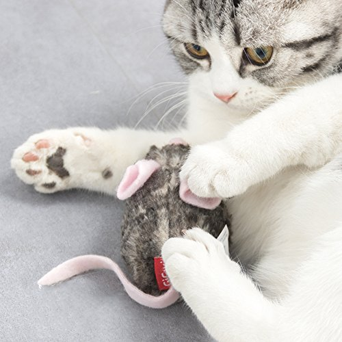 PetDroid Boltz Robotic Moving Automatic Mouse Cat Toy,Mouse Sound Chip Chaser Toy For Kitten,Updated 2018 by PetDroid (Image #3)