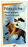Ainsi parlait Zarathoustra par Nietzsche
