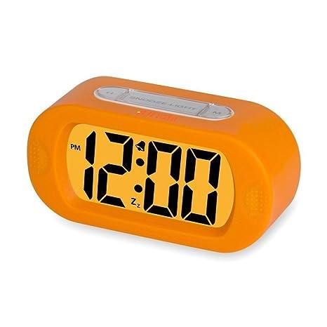 Funda on/off Alarma Reloj Despertador de viaje JUN-Q ® Portátil ligero/
