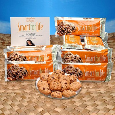 Smart for Life Cookie Diet 14-Day Supply - Oatmeal Raisin