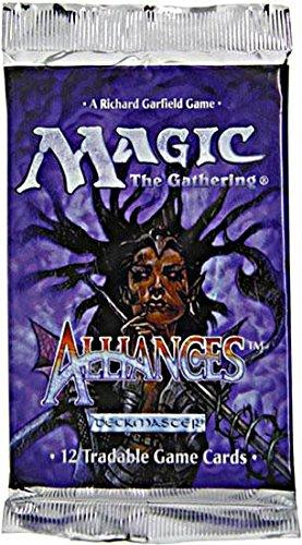 Magic the Gathering Alliances Booster Pack 12 Cards Alliances Mtg Magic Card