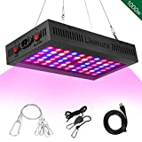 Likesuns 1000W LED Grow Plant Light - Full Spectrum Grow Light for Succulents, Herbs and Flower, Daisy Chain - High Power, Dual Chip Design with Large Cooling Fan - Double Switch Vegetable and Bloom Buttons