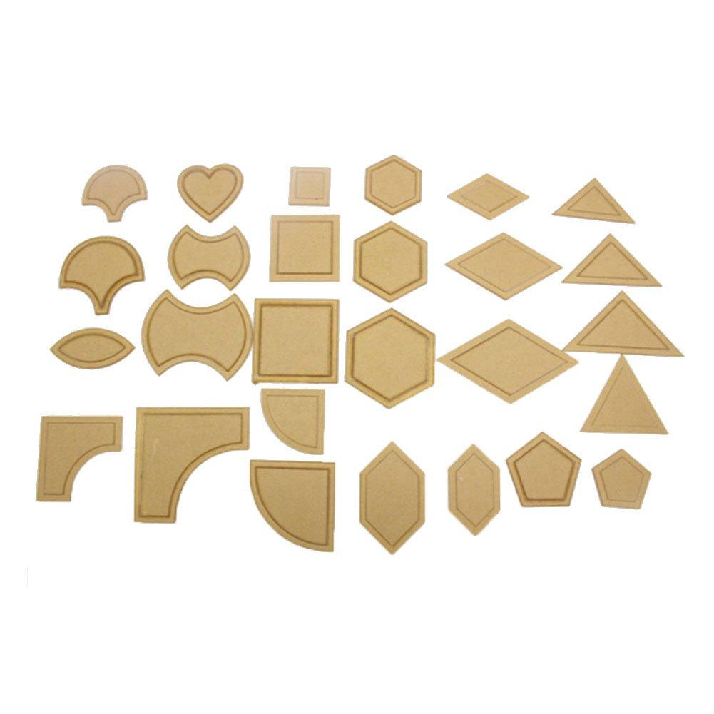 TOOGOO 54pzs Juego de herramientas de costura regla de almazuela ...