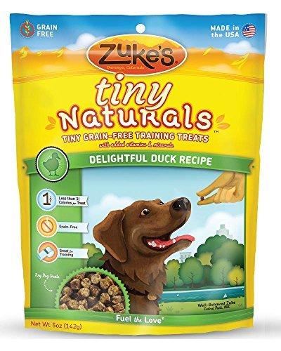 Zuke's Tiny Naturals Dog Treats, Delightful Duck Recipe, 5-ounce by (Delightful Natural)