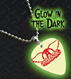 Printed Picks Company Aerosmith Glow In The Dark Premium Guitar Pick Necklace/Chain