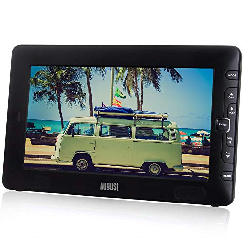 "August DTV905 – 9"" Portable Freeview TV – Small Screen LCD Television..."