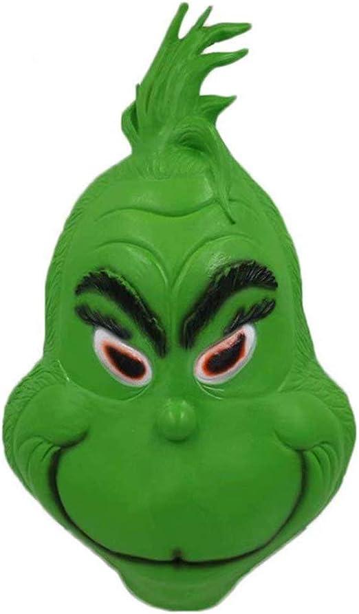 Verde Mask Disfraz de Grinch Cosplay Navideño Equipar con Camisa ...