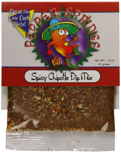 (Pepper Springs Spicy Chipotle Dip Mix, 1.0 Ounce)