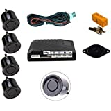Universal Fit For Ford Cars Black Rear Car Parking Reversing Kit with 4 Sensor Buzzer