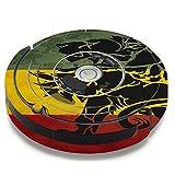Skin Decal Vinyl Wrap For IRobot Roomba 650 655 Vacuum / Rasta Lion Africa