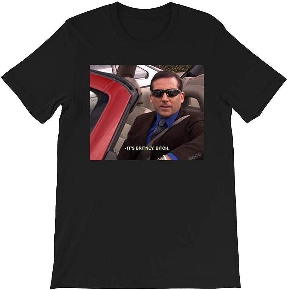 It's Britney Bitch Michael Scott Fun The Office TV Show Funny Gift for Men Women Girls Unisex T-Shirt Sweatshirt