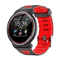スマートウォッチ, A I V E I L E 2019最新版 血圧計 心拍計 歩数計スマートブレスレット Smart Watch...