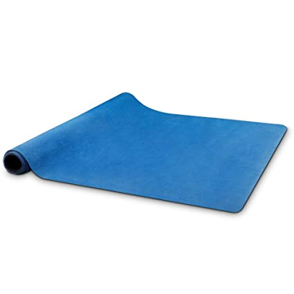 Upplus Travel Yoga Mat, 0.6 Inch Thin Foldable Lightweight Fitness Mat,Machine Washable,Sweat Absorbent,for Hot Yoga,Pilates, Outdoor with Exquisite ...