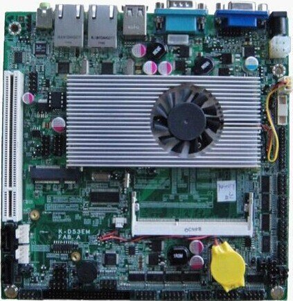 I52-102B Mini-ITX Industrial Motherboard and Intel Atom D525 1.8GHz - Low Power Processor Provides 1204PIN DDR3 Memory Slots+1 PCI Slot ()