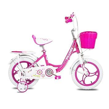 Bicicletas Para Niñas Rosa 12,14,16 Niños para Niños De 2 A ...