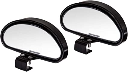 Retroviseur Angle Mort,Grand Angle R/églables Miroir dangle Mort pour Voiture R/étroviseur Auxiliaire R/étroviseur pour Tous Les Voitures,Droite